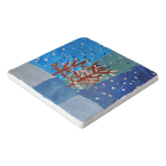 Winter - Art by Kids Trivet