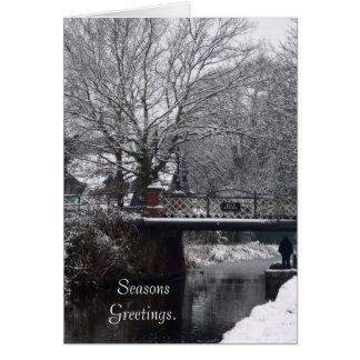 Winter at Kiln Bridge Card