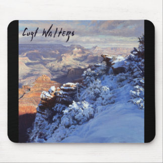 Winter at Mather Point Mouse Pad