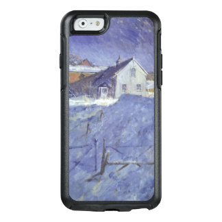 Winter at Silver Lodge OtterBox iPhone 6/6s Case