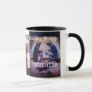 WINTER AT VALLEY FORGE MUG