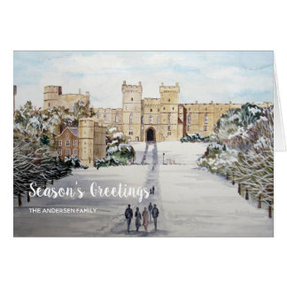 Winter at Windsor Castle Christmas Card