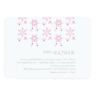 Winter Baby Shower Invitation | Girl
