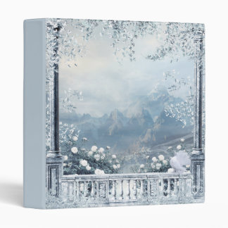 Winter Balcony View Binder