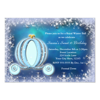 Cinderella invitations announcements zazzle canada for Cinderella invitation to the ball template