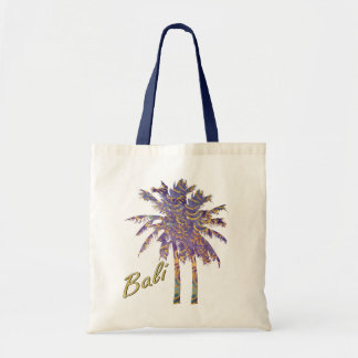 Winter Batik Palm Trees Tote Bag