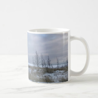 Winter Beach Landscape Mug
