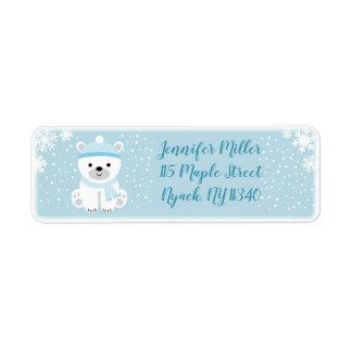Winter Bear Baby Shower Address
