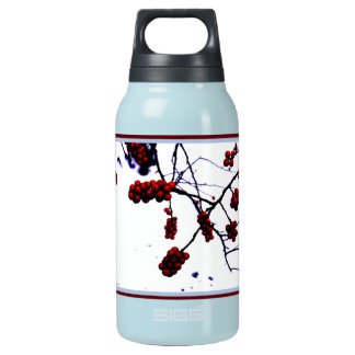 Winter Berries Insulated Water Bottle