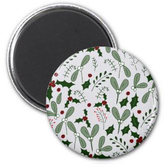 Winter berries magnet