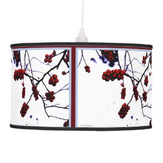 Winter Berries Pendant Lamp