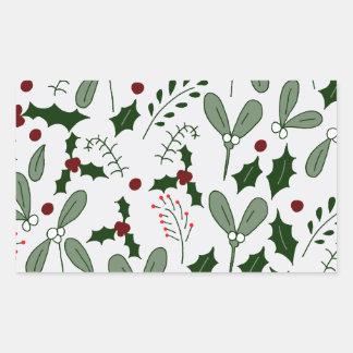 Winter berries sticker
