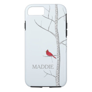 Winter Birch Tree Cell Phone Case