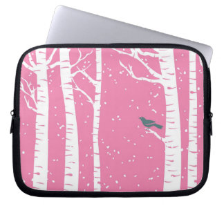 Winter Birch Tree (Today's Best Award) Laptop Sleeve