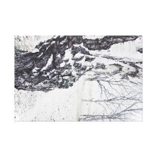 Winter Birches small canvas print 24x16