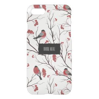 Winter Birds and Berries iPhone 8/7 Case