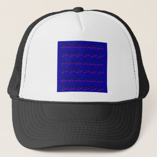Winter Birds  Food blue Trucker Hat