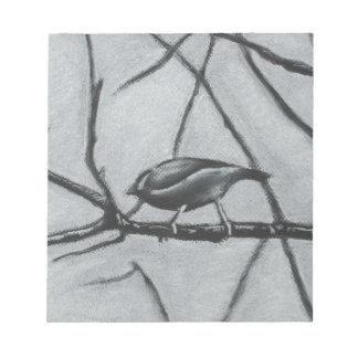 Winter Birds Notepads