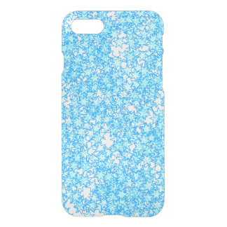Winter Blue Stars Pastel Kawaii iPhone 7 Case