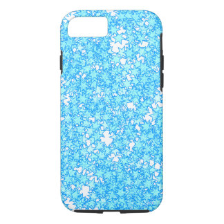 Winter Blue Stars Pastel Kawaii iPhone 8/7 Case