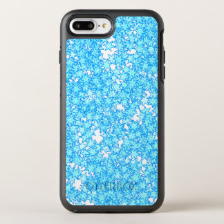 Winter Blue Stars Pastel Kawaii OtterBox Symmetry iPhone 8 Plus/7 Plus Case