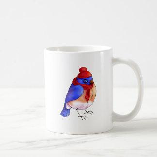Winter Bluebird Coffee Mug
