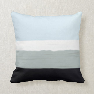 Winter Blues 5 Throw Pillow