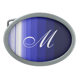 Winter Blues Belt Buckle