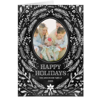 Winter Branches | Holiday Photo Card
