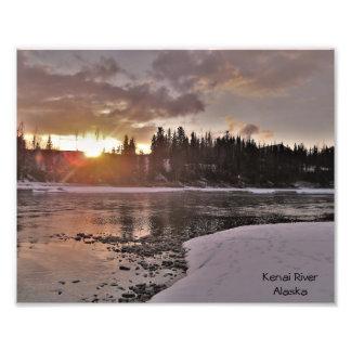 Winter Breakup in Alaska Photo Print