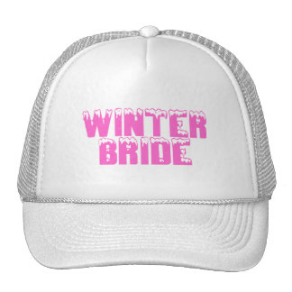 Winter Bride Mesh Hats