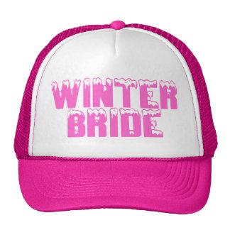 Winter Bride Trucker Hat