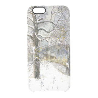 winter bridge clear iPhone 6/6S case