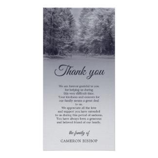 Winter Bridge | Sympathy Thank You Card