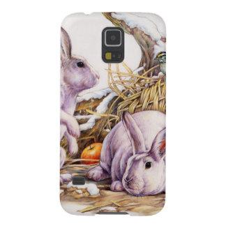 Winter Bunnies Galaxy S5 Case