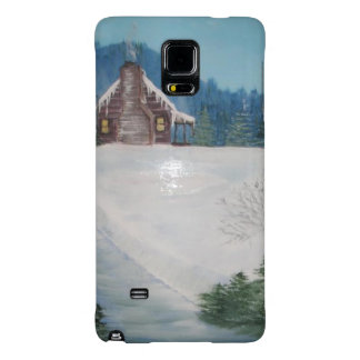 Winter cabin phone cover