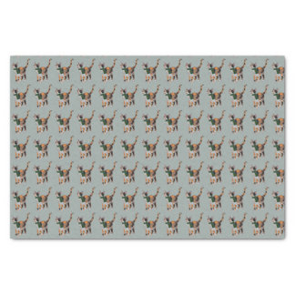 WINTER CALICO CAT Tissue Paper