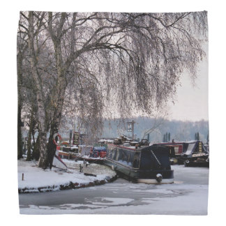 WINTER CANAL BANDANA