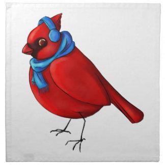 Winter Cardinal Napkin