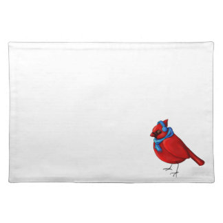 Winter Cardinal Placemat
