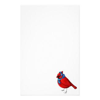 Winter Cardinal Stationery