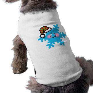 Winter cartoon snowflake shirt