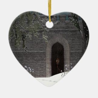 Winter Castle Ornament