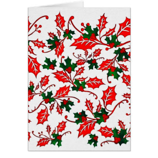 Winter Christmas Design Card
