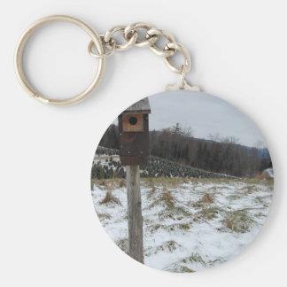Winter/Christmas Non-Apparel Basic Round Button Keychain