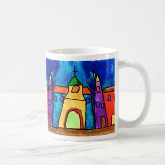 Winter City by Cooper Nielsen, Age 8 - mug