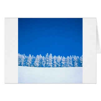 Winter Clearing Card
