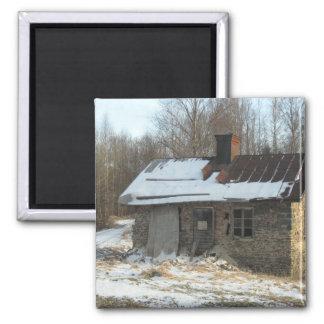Winter Cottage Magnet