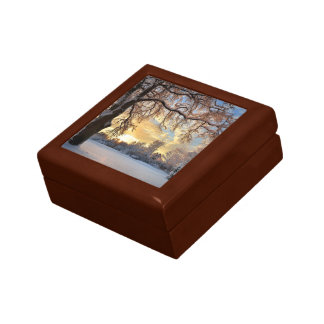 Winter Countryside In Latvia Gift Box