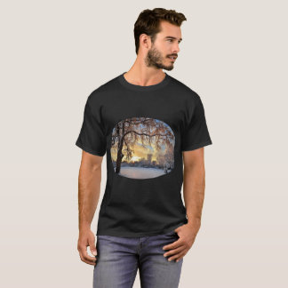Winter Countryside In Latvia T-Shirt